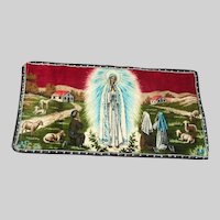 Virgin Mary Our Lady Fatima Prayer Rug