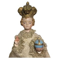 A Prosperi Jesus Infant Of Prague Statue