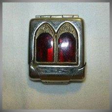 Old Religious Pocket Icon Figures