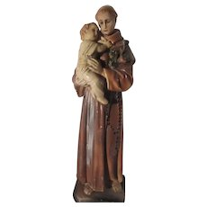St Anthony Infant Jesus Statue Large Figurine
