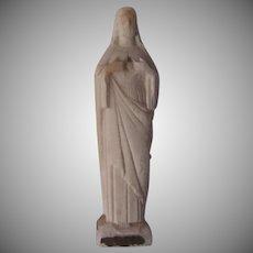 Jesus Sacred Heart Figurine Statue Unusual