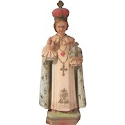 Infant of Prague Jesus Statue