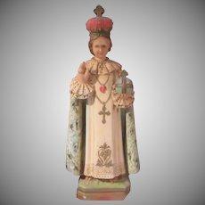 Infant of Prague Jesus Statue