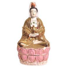 Fine Porcelain Buddha Statue Figurine