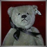 1983 Richard Steiff Silver Teddy Bear