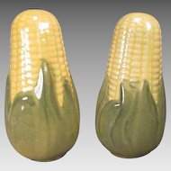 Shawnee Pottery Corn King Salt and Pepper Shakers - Larger Stove-top Size
