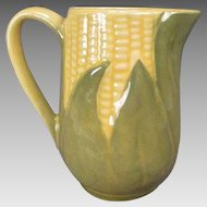 Shawnee Pottery Corn King Milk Pitcher or Creamer #70