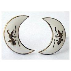 Sterling Silver Siam Earrings in White