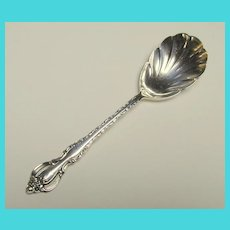Pretty Silverplate Sugar Spoon