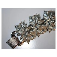 Vintage Coro Leaf Bracelet - Pretty