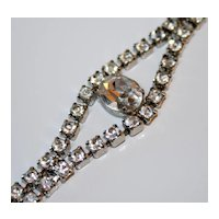 Sparkly Vintage Rhinestone Bracelet