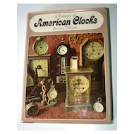 Reference Book - A Treasury of American Clocks - author Brooks Palmer