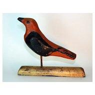Early 20th century Folk Art Bird