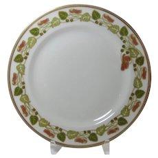 Arts and Crafts Plate Haviland & Co Limoges France