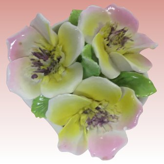 Petite Porcelain Posies Made In England