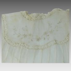Childs Christening Dress Gown Circa 1900