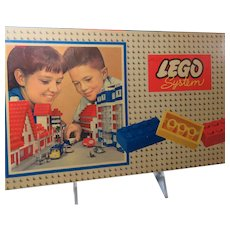LEGO System 1962 Two Sets MIB 700/3 and 700/5