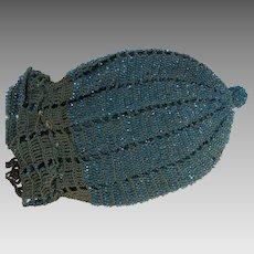 Handbag Reticule Beaded Hand Made AS IS