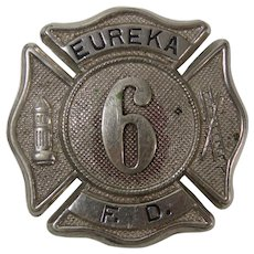 Eureka Fire Department Badge