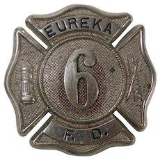 Eureka Fire Department Badge