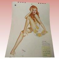 Vargas Complete 1944 Esquire Calendar