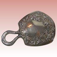 Gorham Sterling Silver Hand Vanity Mirror