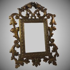 19th Century Ornate Vanity Dressing Table Mirror Maiden Memories