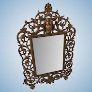 Antique Vanity Mirror Aesthetic Movement