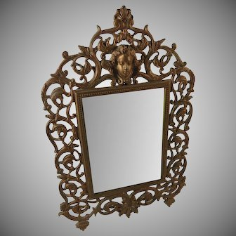 Antique Vanity Mirror Aesthetic Movement