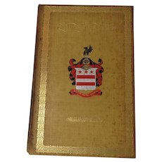 George Washington authored by Woodrow Wilson copyright 1896