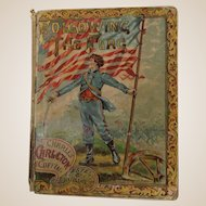 Following The Flag author Charles C. Coffin copyright 1886