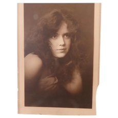 Sultry Pensive Woman In This Vintage Photograph