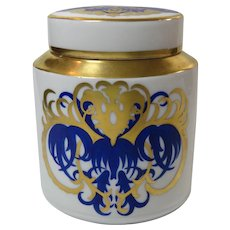 Art Deco Tea Caddy Designed by Lorenz Hutschenreuter in 1920