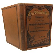 Der Brieftaubensport Book The Pigeon Sport 1889