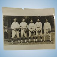 1920s Baseball Photograph Unknown Team