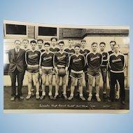 Lincoln Basket Ball Team 1932 Portland Oregon High School