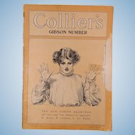 1905 Collier's Magazine Ten New Gibson Drawings Vol 4 Oct 21st