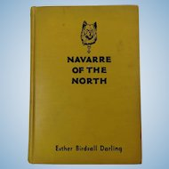 Navarre Of The North Esther Birdsall Darling 1st Ed Signed