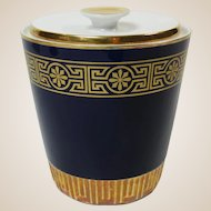 Vintage Bavaria Echt Kobalt Porcelain Box