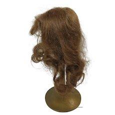 Doll Wig Light Auburn Human Hair