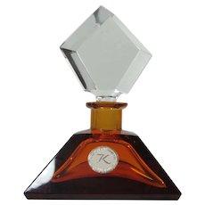 Perfume Lead Crystal Hand Cut Western Germany