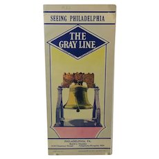 The Gray Line Bus Tour of Philadelphia 1933 Brochure