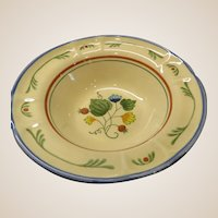 Metlox Poppytrail Vernonware Pattern Gigi Cereal Bowls