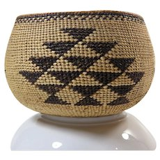 Hupa-Yurok-Karuk Northern California Indian Basket