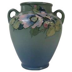 Weller Hudson Vase Pale Blue Circa 1920