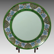 Haviland Hand Painted Motto Plate French