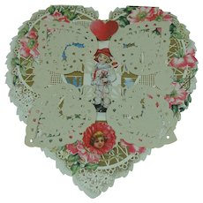 Paper Lace Valentine Whispers of Love