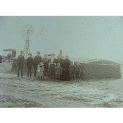 Sod House Crawford Family Oklahoma Territory 1906 Balko, Oklahoma
