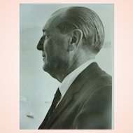 Alfred F. Wallenstein Conductor Cellist Collectors Photograph