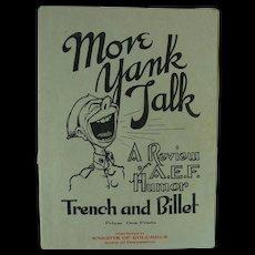 WWI Brochure Publication Magazine A.E.F. Humor - Red Tag Sale Item